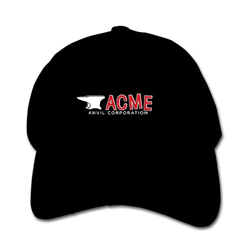 Huyuadu Youth Childrens Cotton Cap Plain Hat Baseball Acme Anvil Corporation Hats Black