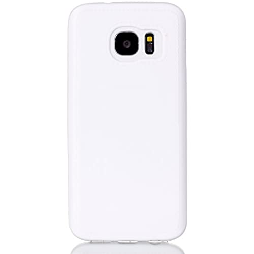 Samsung Galaxy S7 Case, [Drop Protection][Slim Cushion] Shock Resistant Protective Premium Soft TPU Case Slim Case for Samsung Galaxy S7 (For Galaxy S7 - White) Sales