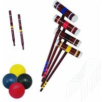 Halex Classic 4 Player Croquet Set in Carry Bag