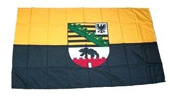 Flagge Fahne Sachsen-Anhalt 30 x 45 cm FLAGGENMAE/®