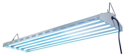 Sun System Fluorescent 960200 120/240V New Wave Lamp, 4' by Sun System Fluorescent