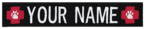 - Northern Safari Army Navy Custom Uniform Name Tapes with Choice of Logos. Personalized & Embroidered in 5