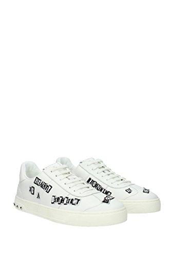 Valentino Sneakers Mænd - Læder (0s0a08wvk) Eu Hvid afv4W