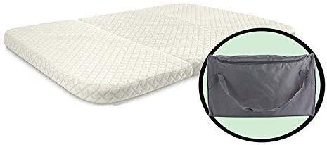 Amazon.com: NapYou Amazon Exclusive Pack n Play Mattress, Convenient Fold with Bonus Easy Handle Carry Bag: Kitchen & Dining