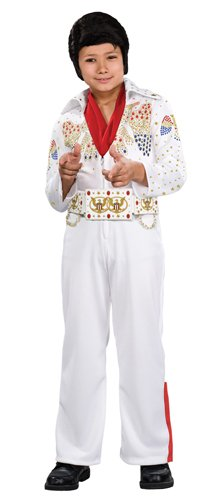 Rubies Deluxe Elvis Child Costume, Toddler, One Color -