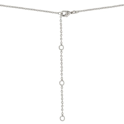 ISADY - Jeanne - Collier - Oxyde de zirconium - A breloques - Coeur - Love - Dauphin