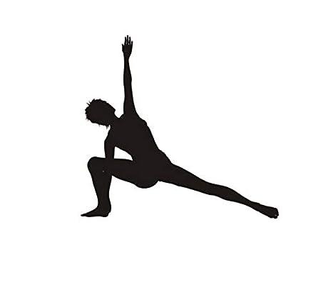 AELAHER Pegatinas De Coche De Pared Om Etiqueta De Yoga ...