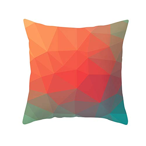 Fitted Sheet Thomasville (Weiliru Geometric Print Polyester Square Pillow case Sofa Throw Cushion Cover Home Decor Protect Lumbar)