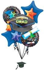 Grad Celebration Balloon Bouquet