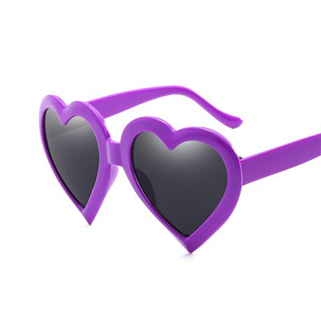 de Heart mujeres sol Gift de Heart para Negro Gafas Mujeres Rosa Rosa GGSSYY Shape Gafas Eye Brown Red Love sol Vintage Fwf5naqZU