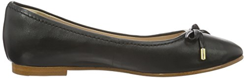 Clarks Grace Lily, Ballerine Donna Nero (Black Leather)