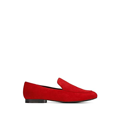 - Kenneth Cole New York Westley Suede Loafer Red