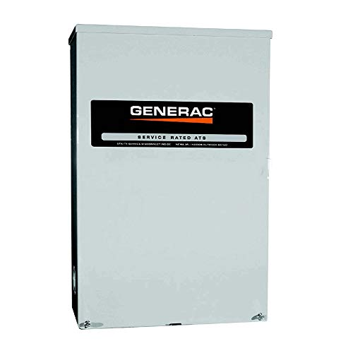 Generac Transfer Switches (Generac RTSB200A3 RTS 120V/240V 200 Amp Single Phase Service Rated Synergy Smart Transfer Switch)