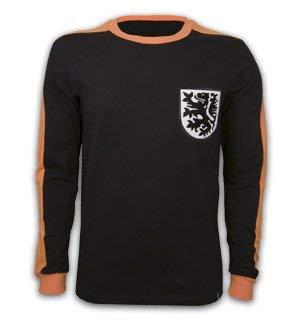Jersey Retro 1970 (Copa Classics Holland Goalie 1970\'s Long Sleeve Retro Football Soccer T-Shirt Jersey 100% Cotton)