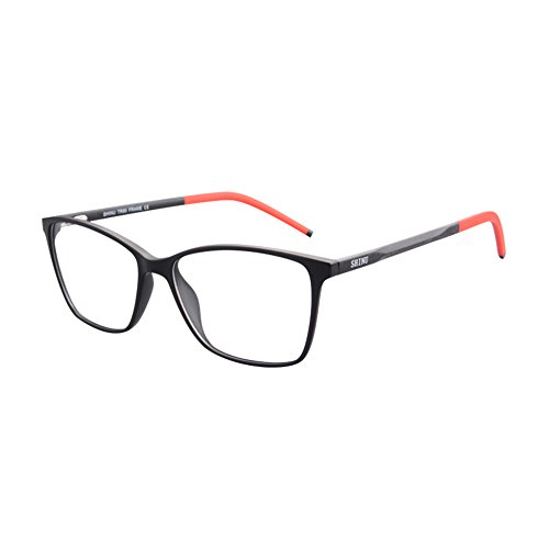 KUDEE Progressive Multifocus Reading Glasses Women's Anti Blue Light Computer Readers-MAT087(C1,0/175)
