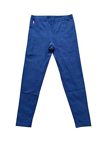 Polo Ralph Lauren Girl's Leggings Cotton Jersey Legging, Blue ()