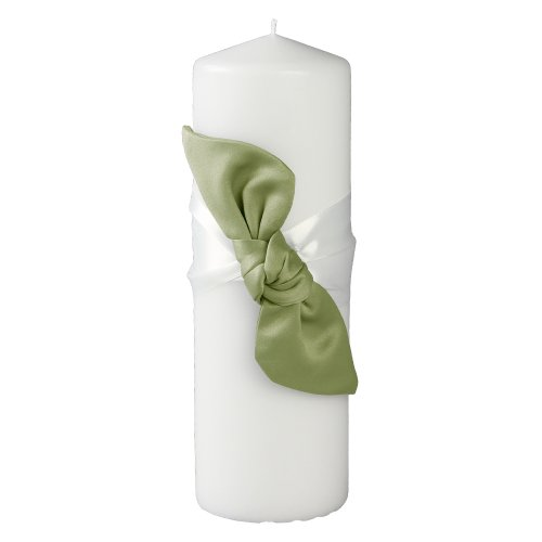 Ivy Lane Design Love Knot Pillar Unity Candle, - Collection Candle Unity