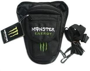 Unisex Leg Bag By Monster Energy , Black , Fabric