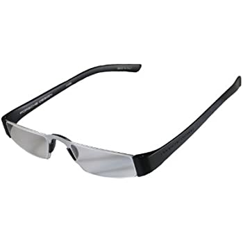 3044fa2b716 Porsche Design +1.50 Lightweight Reading Tool Model P 8801 ~ Titan Black  Color Frame with Anti-Reflection coated lenses - Can be folded extremely  flat to ...
