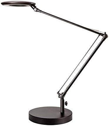 Flexo Led BRESSLO articulado, negro, Blanco neutro, Regulable. Lámpara Escritorio, Lámpara de Mesa Regulable Articulado Flexo Escritorio para Hogar,Oficina,Dormitorio,Negro