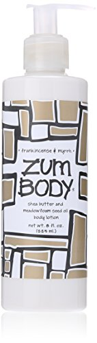 Indigo Wild Zum Body Lotion, Frankincense and Myrrh, 8 Fluid Ounce