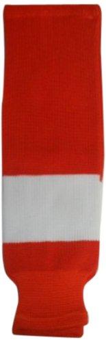 DoGree Hockey Philadelphia Flyers Knit Hockey Socks, Orange/White, Junior/24-Inch
