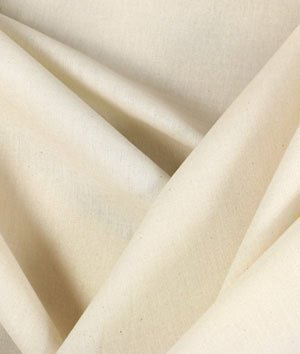 "63"" Unbleached Muslin Fabric - by the Yard by Online Fabric Store"