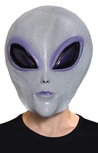 HMS Men's Alien Mask, Grey, One Size -