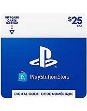 $25 PlayStation Store Gift Card - CANADA [Digital Code]