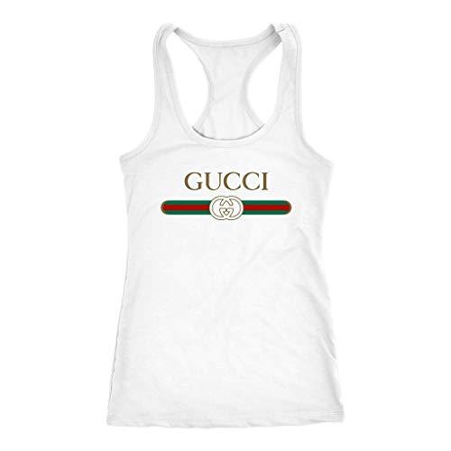 Gucci Logo Racerback Tank Women Handmade