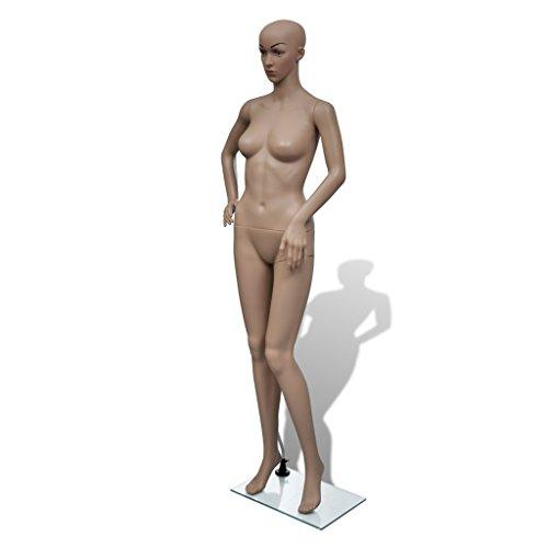 Festnight Glamorous Beautiful Female Full Body Plastic Realistic Mannequin Woman Full Body by Festnight