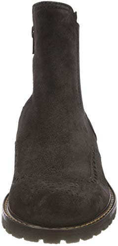 Gabor Bottes dark mel 39 Grey Basic Chelsea Comfort Gris Shoes Femme rqaBprH