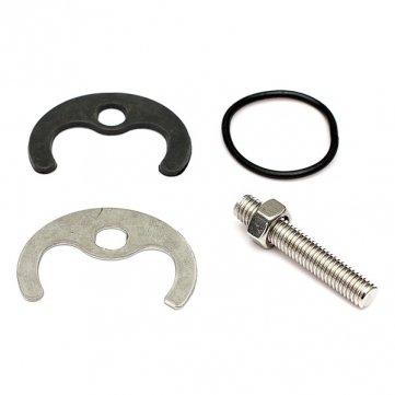Interruttore monoblocco miscelatore rubinetto fissaggio kit un foro bullone/dado/rondella MHDS SKUBM5148841