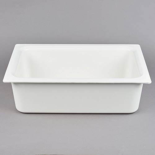 TableTop King CM110002 Coldmaster Full Size White Cold Food Pan - 6