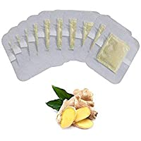 10Pcs Ginger Essential Detox Foot Patch nese Medicine Patches With Adhesive Organic Herbal Cleansing Patch Massage Z06210