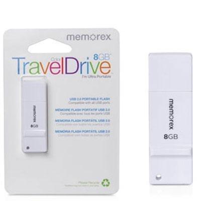 8 Gb Traveldrive Flash - 8GB Color TravelDrive White