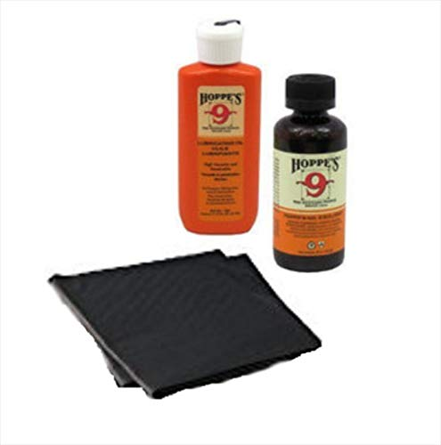Westlake Market Gun Bore Cleaner and Lubricating Oil with Free Absorbent Mat/Pads (2) for Cleaning Handguns/Pistols/Rifles
