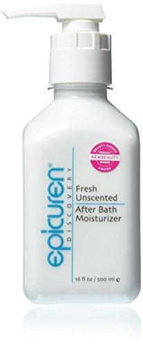 Epicuren Discovery Fresh After Bath Body Moisturizer, Unscented, 16 oz.