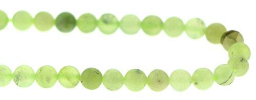 6mm Gemstone Rounds Nephrite Jade Gr20 (Nephrite Jade Gemstone)