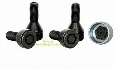 Wheel Lock Set Anti Theft Lug Nuts Bolt with Key for BMW X1 Z3 Z4 1 3 4 5 6 7 8