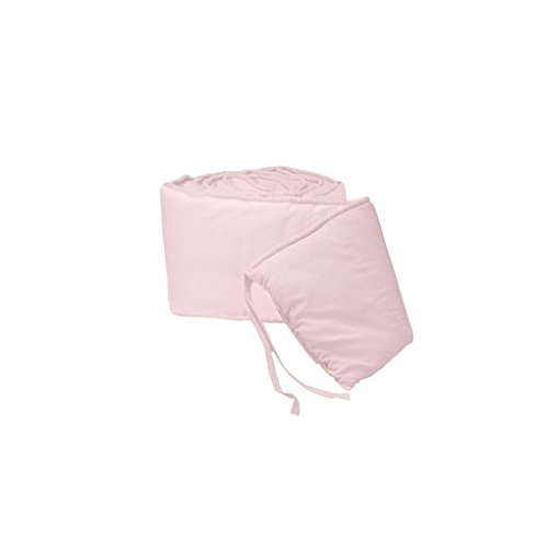 Babydoll Tailored Baby Cradle Bumpers, Pink, 18'' x 36''