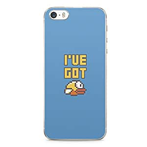 Flappy Bird iPhone 5s Tranparent Edge Case