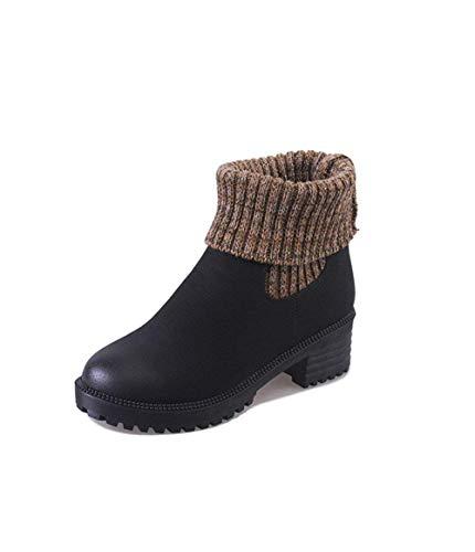 Décontractées Chaussures Cylindres Femme Courtes Sed Bottes 's Eu Martin 38 ST4WqS0Uv