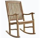 Teak Rocking Chair Outdoor or indoor For Sale