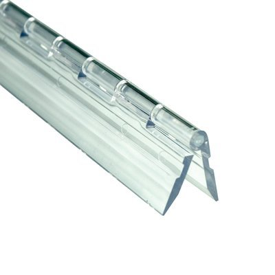 Source One Premium 12-Inch Clear Acrylic Hinge Plastic (S1-Clearhinge) ()