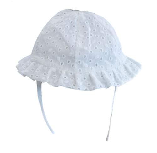 Daisy Days - Sombrero - para bebé niña Blanco Blanco 12-24 ...