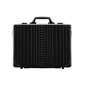 Image of Luggage Aleon 17' Aluminum Business Attache Hardside Business Briefcase