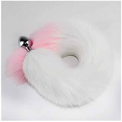 Elegant and stylish plush fox tail - role