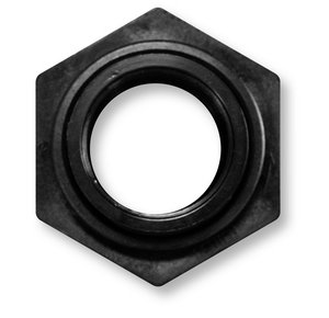 Aquascape Black Poly Bulk Head Fitting, 2
