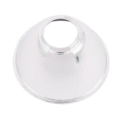 uxcell 3pcs Aluminum COB LED Flashlight Reflector Light Lamp Holder 64mmx20mmx35mm